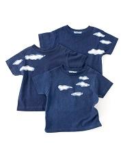 藍工房×ホアキン・べラオ<br>藍染Tシャツ(男性用)<br>Indigo T-Shirts (Mens)