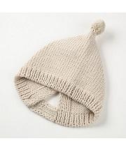 SHOKAY for TOHOKU<BR>ポンポン・ベビーハット<BR>Pom Pom Baby Hat